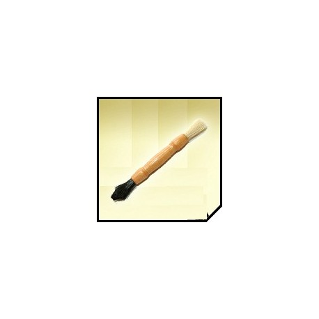 sonus 2 way mini detail brush - dwustronny pędzelek