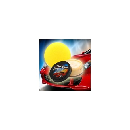 blackfire midnight sun ivory carnauba paste wax 89ml - efekt wet diamond gratis aplikator