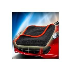 blackfire black microfiber 40x40