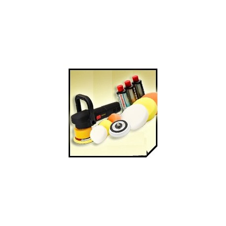 zestaw full do polerowania lakieru krauss dual action/menzerna,flexipads