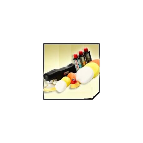 zestaw full do polerowania lakieru lare epl 11 / menzerna /flexipads
