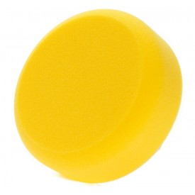 NAT Gąbka polerska na rzep 80mm : żółta polishing