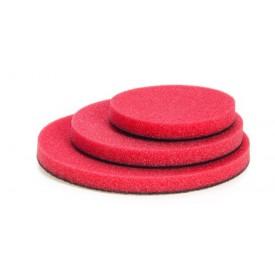 nat czerwona średnio miękka gąbka polerska 33mm