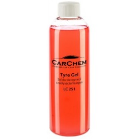carchem tyre gel żel do opon - 500 ml