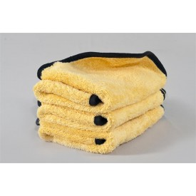 showcarshine big 60x40 yellow plush double side 550gsm