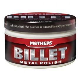 mothers billet metal polish 113g - zrób metal na lustro gratis mikrofibra