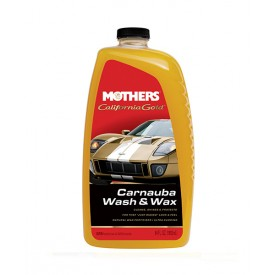 MOTHERS CARNAUBA WASH AND WAX 1,8L - SZAMPON Z WOSKIEM