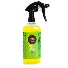 shiny garage monster wheel cleaner plus gel 500ml