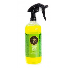 shiny garage monster wheel cleaner plus gel 1l