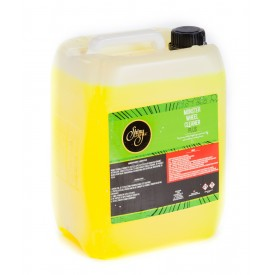 shiny garage monster wheel cleaner plus gel 5l
