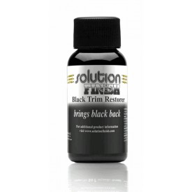 Solution Finish Black Plastic & Vinyl Restorer 30ml