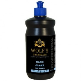 wolf's chemicals nano glaze 500ml : cleaner + sio2