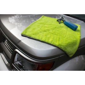ShowCarShine Microfiber EXTREMELY SOFT & PLUSH DRYING 1200GSM - 55x55 green