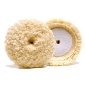 lake country 100% twisted wool cutting pad 89mm - najmocniejsze futro na rynku