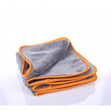 ShowCarShine Microfiber Grey + Orange Silk 385GSM