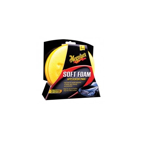 meguiars soft foam applicator pad 2 pack bulk aplikator do wszystkiego