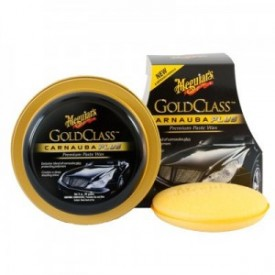 meguiars gold class carnauba plus paste wax - gratis mikrofibra