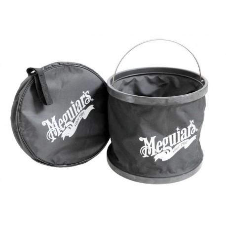meguiars foldable bucket - składane wiadro + pokrowiec