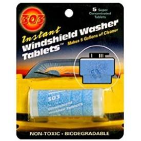 303 WINDSHIELD WASHER TABLETS 5-PACK - TABLETKI, PŁYN DO SPRYSKIWACZY