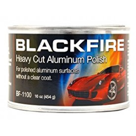 .BLACKFIRE HEAVY CUT METAL POLISH 454G - MOCNA PASTA DO METALI