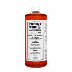 poorboys world all purpose cleaner refill do wszystkiego silny koncentrat gratis mikrofibra