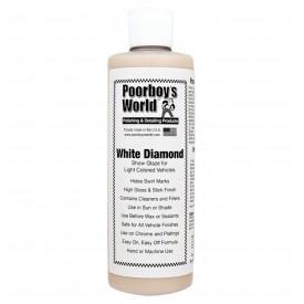 """poorboy's white diamond """"wet look"""" dla jasnych lakierów gratis mikrofibra"""