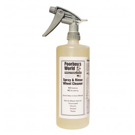poorboy's world spray and rinse wheel cleaner wyczyści każdą felgę