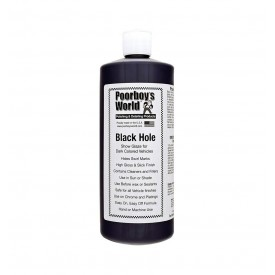 poorboy's world black hole 964ml najlepsza głębia i wet look gratis mikrofibra