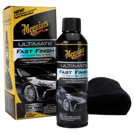 meguiars ultimate fast finish + mikrofibra