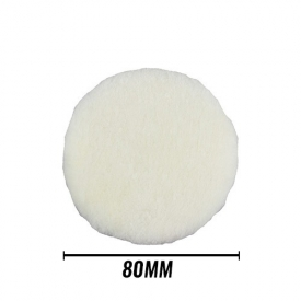 chemical guys crazy wool pad 80mm