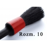 showcarshine natural brush black/red 10 - średnica 15mm