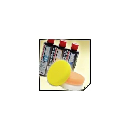 menzerna zestaw premium - 3x250ml + pady 3-pack