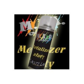 plastilak 400ml - metalizer złoty