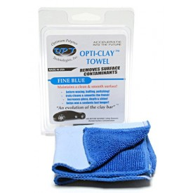 optimum opti-clay towel – fine blue - delikatny