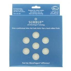 surbuf microfingers r series pads - 135mm mocno tnący do d/a