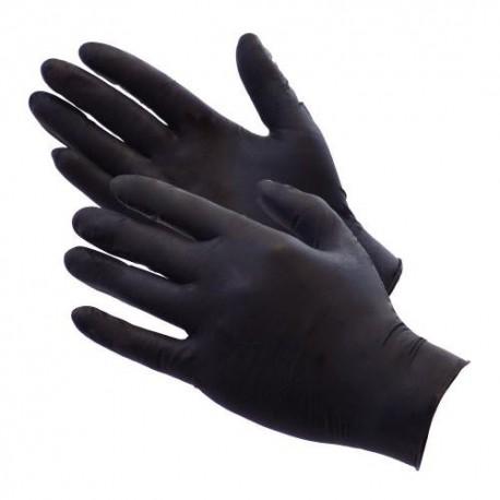 showcarshine black nitrile gloves 10 szt/5par rozm. m : heavy duty