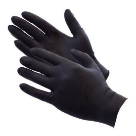 showcarshine black nitrile gloves 10 szt/5par rozm. xl : heavy duty