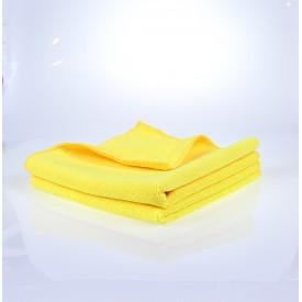 showcarshine microfiber apt yellow 385 gsm 40x40: uniwersalna
