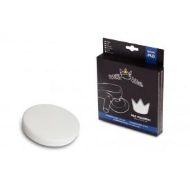royal pads hard pad polishing 80mm - biała płaska