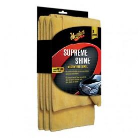 meguiars supreme shine microfiber 3 pack gratis 2 mikrofibry