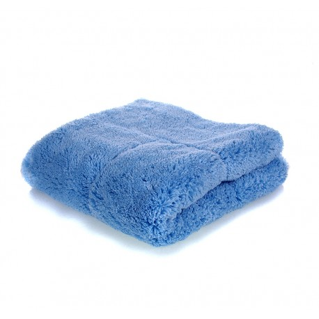 showcarshine microfiber first class buff and drying 1450 gsm towel - 46x46 blue