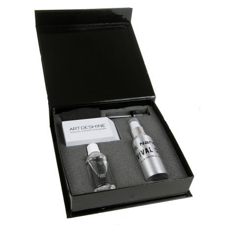 artdeshine spiros pro new 50ml + revival coat 100ml: box kit