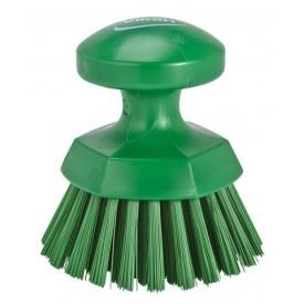 vikan szczotka okrągła zielona