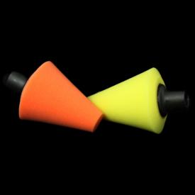 lare szyszka polerska 80mm m14 pomarańczowa do rotacji