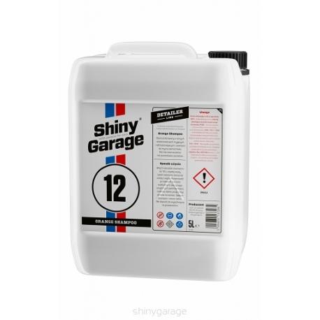 shiny garage orange car wash 5l