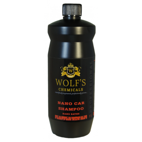 wolf's chemicals nano shampoo 1l - szampon hydrofobowy z sio2