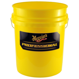 meguiars professional wash bucket – yellow