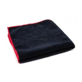 showcarshine microfiber black/red apt 410 gsm 40x40