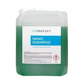 fx protect nano shampoo - szampon samochodowy z kwarcem sio2 ph neutral 5l
