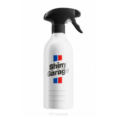 shiny garage butelka z pustą etykietą 500ml